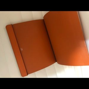 Hermes Authentic Orange IPad case